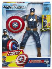 Action figure di eroi dei fumetti originale aperto Hasbro sul Captain America