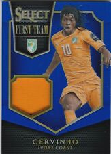 2015-16 Panini Select Soccer First Team Gervinho Jersey Card 36/99