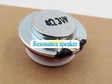 1pcs 27MM 4ohm 4Ω 3W Resonance Speaker Plane vibration audio Loudspeakers DIY