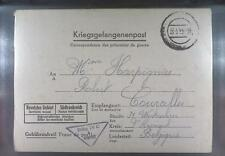 Camp Stalag IVC Wistritz 1944 POW Prisoner Belgium Kriegsgefangenenpost L5