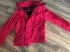 Hollister men's medium red winter jacket