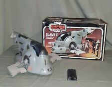 Kenner Star Wars Slave 1with Box Boba Fetts Spaceship 1981 Vintage