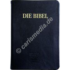 DIE BIBEL: SCHLACHTER 2000 GROSSDRUCK - Großdruck - Flexibles Kalbsleder °CM°