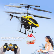 Kids Toy V388 3.5CH Gyro Helicopter RTF Remote Control Airplane Toy+ Red Basket