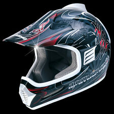 Casco Moto Cross Marushin XMR Pro TG XL Enduro Supermotard Poizun Nero