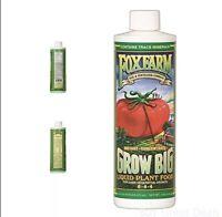 FoxFarm Grow Big Liquid Organic Concentrate Fertilizer Plant Food 6-4-4 16 Oz