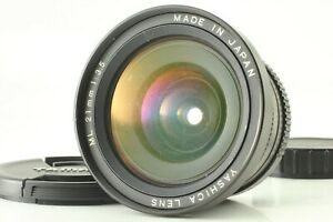 [Excellent] Yashica ML 21mm f/3.5 CONTAX / Yashica Mount Lens From Japan #883