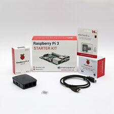 Raspberry Pi 3 Official Starter Kit 16 GB - Black (M09)