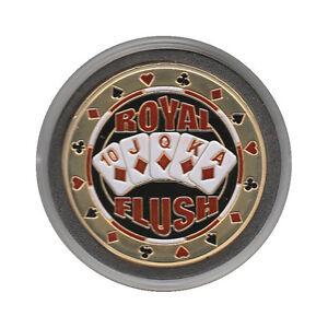 NEW Royal Flush Poker Card Guard *GOLD*