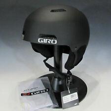 GIRO Ledge Ski & Snowboard Helmet (Matte Black, Small)