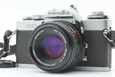 【EXC+++++】Minolta XD 35mm Film Camera, Bonus MD Rokkor 50mm Lens from JAPAN #e06