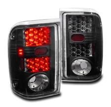 2001-2005 FORD RANGER PICKUP AFTERMARKET BLACK LED TAIL BRAKE LIGHTS REAR LAMP