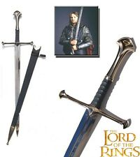 Lord of the Rings Aragorn Anduril Flame of the West Sword with Scabbard