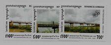 CAMBODIA SC 1461-3 NH issue of 1995 - BRIDGES
