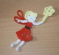 HANDMADE CROCHET FAIRY  APPLIQUE