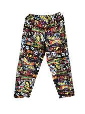 Mens Halloween Punk Rock Elastic Waist Pajama Sleep Lounge Pant Zombies M