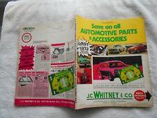 J.C.WHITNEY & CO. #306 -1972 AUTOMOTIVE PARTS & ACCESSORIES VINTAGE