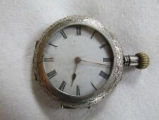 Mechanical (Hand-winding) Silver Case Round Wristwatches