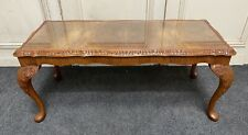 Burr Walnut Queen Anne Coffee Table Fully Refinished C1925