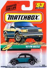 Matchbox MB 53 '62 VW Beetle Mint On Card 1999
