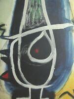 Jean Miro - Lithografie 1973, signiert und nummeriert