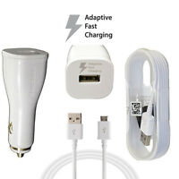 NEW Original OEM Samsung Fast Adaptive Car Charger W/ 5' Micro USB Cable