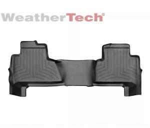 WeatherTech Floor Mats FloorLiner for Chevy Tahoe/GMC Yukon - 2nd Row - Black