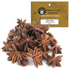 Star Anise 1 oz Package Ritual Herb Whole and Pieces ORGANIC by Grove and Grotto