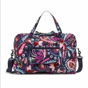 Vera Bradley Packable Weekender Traveler Bag in Painted Paisley