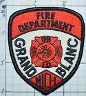 "MICHIGAN, GRAND BLANC FIRE DEPT GBFD 3"" SMALL PATCH"