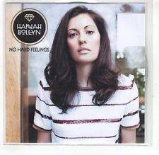 (GR108) Hannah Boleyn, No Hard Feelings - 2014 DJ CD