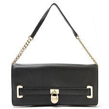 "Calvin Klein Handbags Pebbled Leather Convertible ""Modena"" Clutch BLACK"
