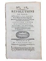 Louis 16 à l'assemblée Nationale 1791 Saugnac et Cambran Haïti Poitiers Gendarme