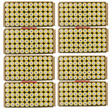 400X 18650 3.7V 5000mAh Yellow Li-ion Rechargeable Battery For Torch Flashlight