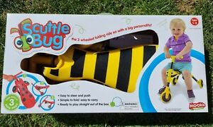 Mookie Scuttlebug Bumble Bumblebee Yellow and Black 1-3 Years Ride On Foldable .