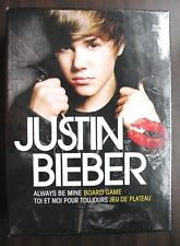 JUSTIN BIEBER ALWAYS BE MINE BOARD GAME 2011 NEW IN BOX &  FACTORY SEALED