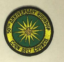 Boy Scouts 50th Anniversary Roundup Corn Belt Council Patch