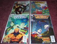 DC Comics Superman First Thunder Shazam! Issues 1-4