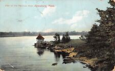 (347) Vintage Postcard of Merrimac River, Amesbury, Mass.