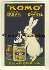 ad3412 - Komo - Furniture Cream & Black Enamel -  Modern Advert Postcards