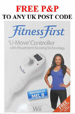 Fitness First U Move Exercise Gaming Motion Controller Pedometer Wii Mel B Fit