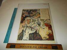 Rare Antique Original 1901 O'Neill Latham Opera Puck Litho Color Art Print