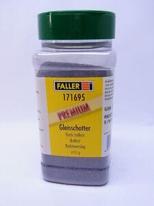 82737 Faller 171695 Gleisschotter C Track Gravel Dark Grey 650g New IN Boxed