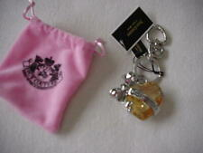 Heart Keychain Gorgeous N/Wt! Juicy Couture Large Rhinestone