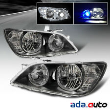 For 2001-2005 Lexus IS300 4/5Dr Sedan/Wagon [Euro Style] Black Headlights Lamps