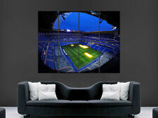 REAL MADRID SANTIAGO BERNABEU LA LIGA SPAIN POSTER REAL MADRID ART PRINT SOCCER