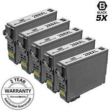 5 Black Printer Ink Cartridge for Epson Expression T288XL120 288XL 288 XL XP-340