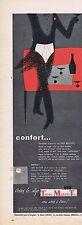 PUBLICITE ADVERTISING 015 1956 TROIS MATELOTS le slip pour homme