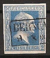 Preußen Mi.-Nr.7ax gestempelt geprüft
