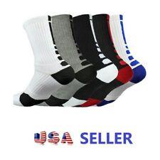Sport Socks Crew Thicken Towel  Basketball Soccer Ankle Socks 1 pair Gym Socks